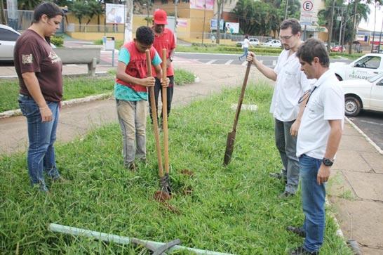 IPDSA e Programa Casa do Pequeno Jardineiro incentivam a arborização em Araxá
