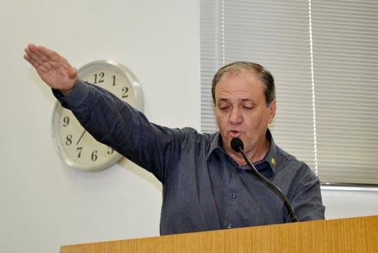 Jairinho Borges parte para o sétimo mandato como vereador