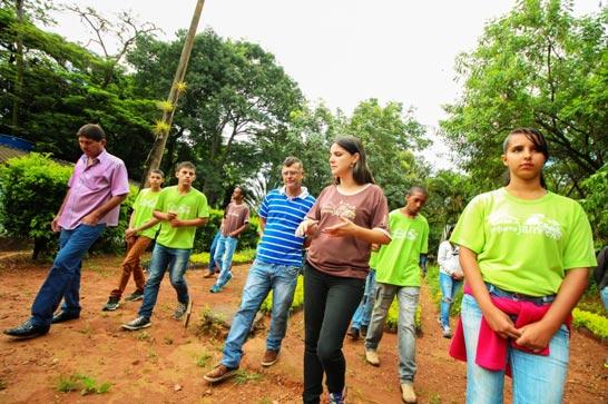 Programa Casa do Pequeno Jardineiro recebe a visita dos vereadores de Indianópolis
