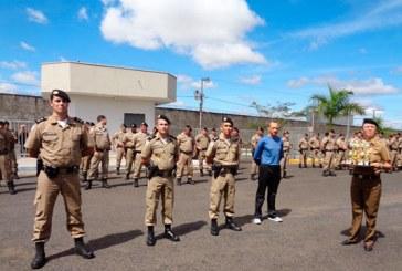 Polícia Militar realiza solenidade comemorativa dos 12 anos do 37ºBPM em Araxá