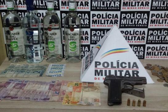 Assaltante é preso pela Polícia Militar