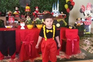 A festa do segundo aniversário de Lucas Marques e Dolga