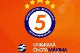 Uniaraxá conquista nota máxima no recredenciamento junto ao MEC