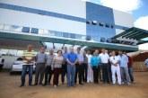Prefeitura visita obras do Hospital da Unimed Araxá