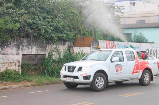 Prefeitura divulga cronograma do carro fumacê