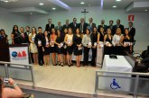 OAB Araxá realiza  5ª solenidade de entrega de carteiras