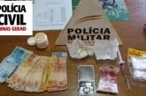 Operação conjunta entre Polícia civil e militar prende três pessoas em Tapira