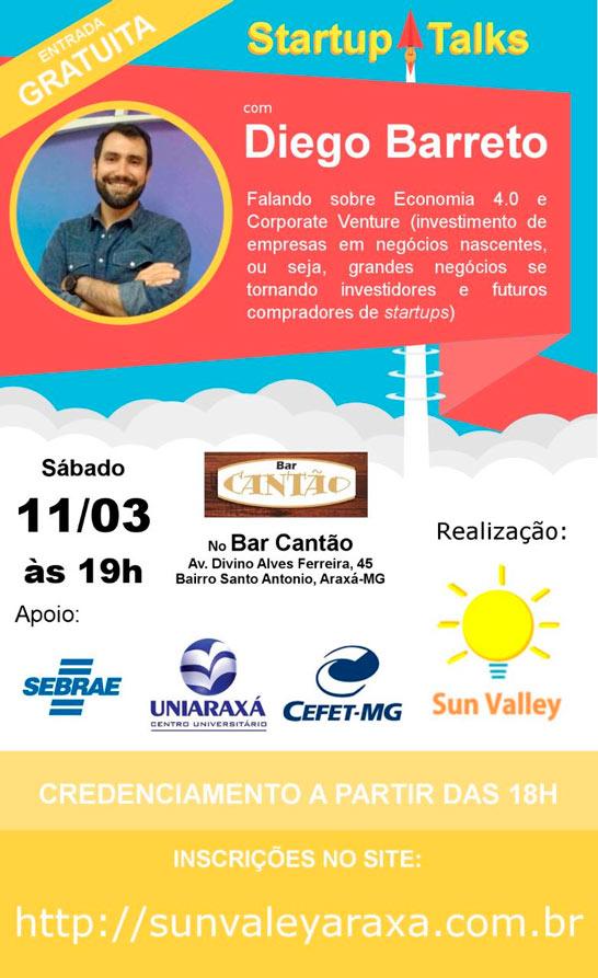 2º edição do Startup Talks Sun Vallley em Araxá 3