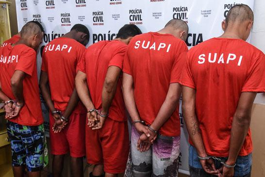 Polícia Civil desmantela organização criminosa e seis homens são presos em Araxá