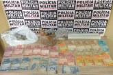 Polícia militar prende autor por tráfico de drogas
