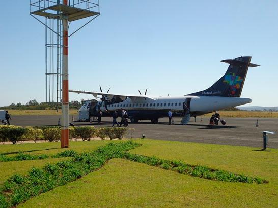 Azul Linhas Aéreas altera voos em Araxá