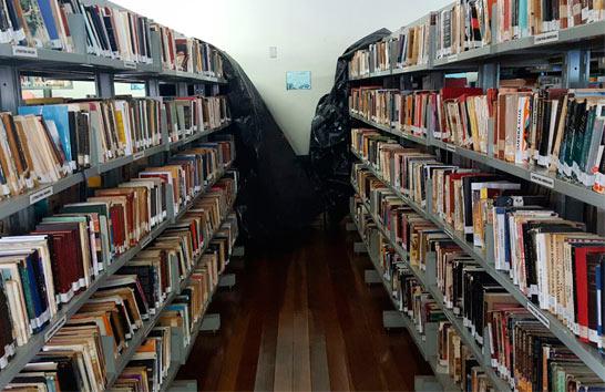 Raphael Rios pede melhorias para a Biblioteca Pública Municipal de Araxá