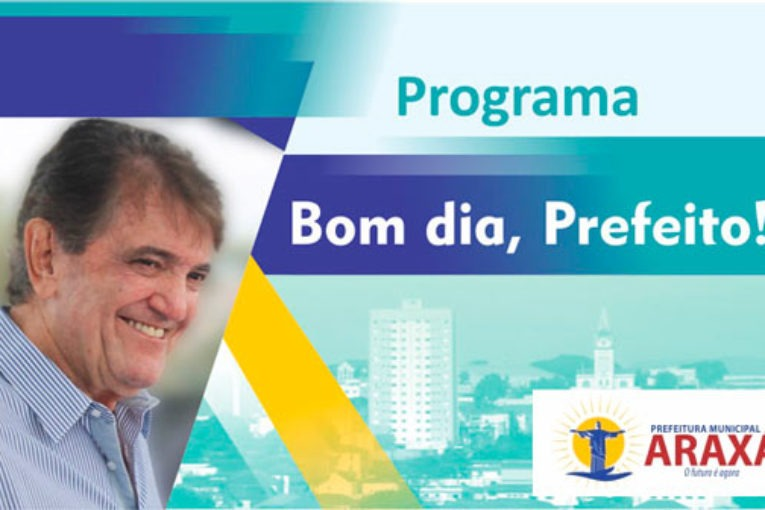 Programa Bom dia, Prefeito! - 10/05/19