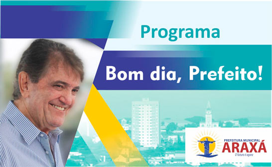 Programa Bom dia, Prefeito - 08/11/19