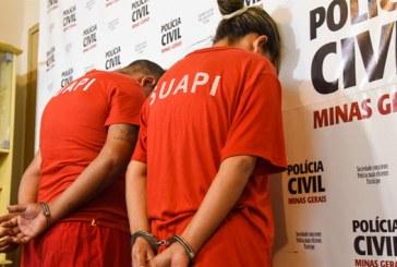 Polícia Civil prende mãe e filho suspeitos de estelionato em Araxá