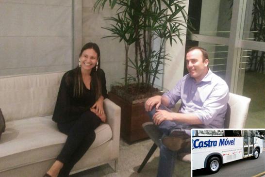 Fernanda Castelha pleitea implantação de castramóvel em Araxá