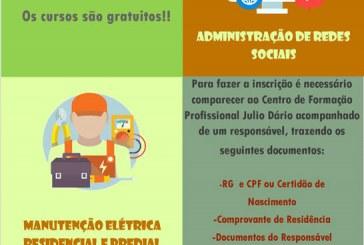 Centro Julio Dário abre inscrições de cursos gratuitos para adolescentes