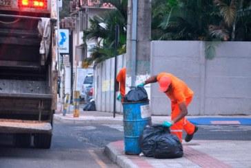 Coleta de lixo divulga cronograma para fim de semana