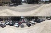 Prefeitura bloqueia estacionamento irregular na Matriz; medida foi cobrada na Câmara Municipal