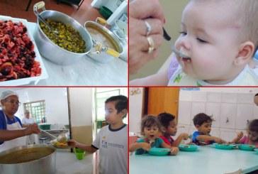 Educação nutricional e merenda de qualidade nas escolas municipais de Araxá