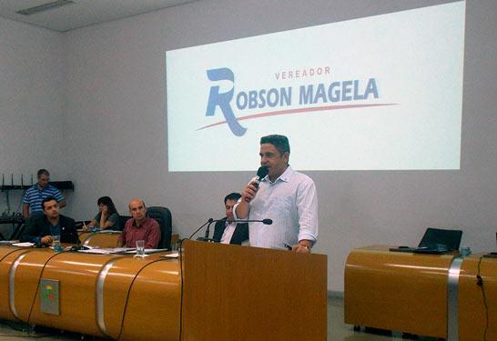 Robson Magela pede que a Prefeitura de Araxá ajude a Ampara