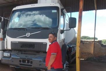 Robson Magela quer a liberação judicial do caminhão pipa da Prefeitura