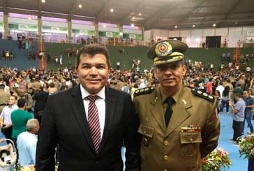 Deputado Bosco comemora ida de 70 novos Policiais para o 37º Batalhão da PM de Araxá