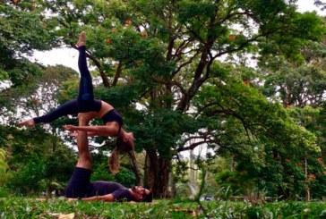 Circuito Respire irá unir Yoga e Acroyoga no Barreiro, em Araxá