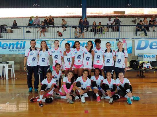 Começam os Jogos do Campeonato Mineiro Regional de Voleibol Feminino - Categorias de base