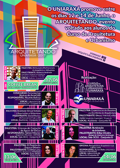 Convite: Arquitetando 2017