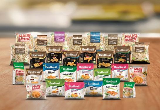 Bem Brasil lança novos produtos de batata no segundo semestre