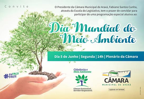 Câmara Municipal realiza evento em comemoração ao Dia Mundial do Meio Ambiente