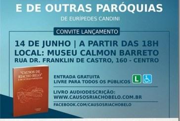 """Convite: Lançamento do livro """"Causos de Riacho Belo"""" de Eurípedes Candini"""
