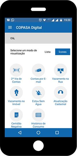 Copasa lança aplicativo que agiliza pretação de serviços 3