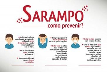 Saúde confirma 1,5 mil casos de sarampo no país