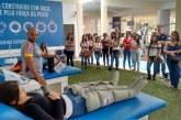 Alunos de Fisioterapia do Uniaraxá visitam o Centro de Reabilitação do Cruzeiro