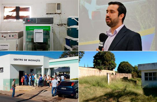 Raphael Rios reivindica melhorias para o Centro de Vacinação e cobra construção de nova sede