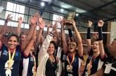 Equipe de Volei feminino de Araxá é campeã no JEMG