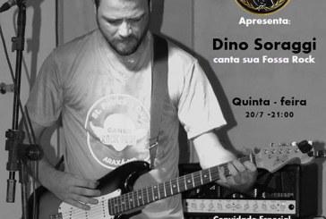Dino Soraggi se apresenta nesta quinta-feira no Owl's Pub