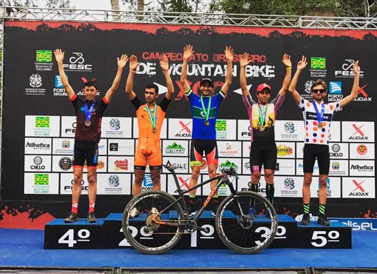 Gabriel Teixeira consegue o 3º lugar no Campeonato Brasileiro de Mountain Bike XCO 2017