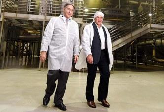 Governador Fernando Pimentel e políticos de Araxá visitam Bem Brasil em Perdizes