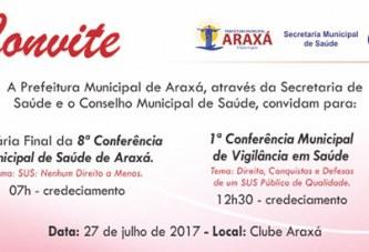 PMA convida para conferências de saúde
