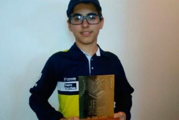 Vitor Amorim é campeão da etapa regional dos Jogos Escolares de Minas Gerais