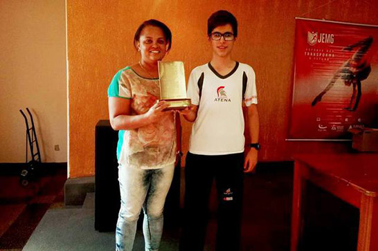 Araxá tem dois campeões na etapa regional do JEMG 3