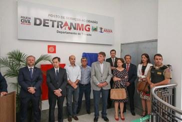 Inauguração da nova sede do Detran em Araxá