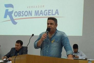 Robson Magela cobra providências da Prefeitura de Araxá sobre o lixão no Distrito Industrial