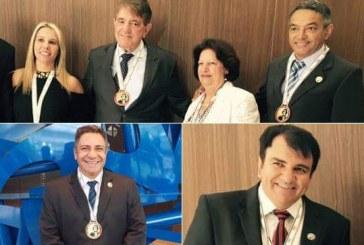 Políticos de Araxá recebem a Medalha Tiradentes