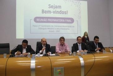 Prefeito participa da reunião do 1º Seminário Regional das Câmaras Municipais