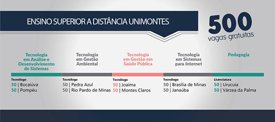 Cursos gratuitos de profissionalização em nível superior na UEMG e na Unimontes 3