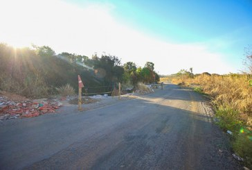 Trecho da estrada da Antinha danificado por erosão será recuperado